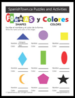 Colors and Shapes in Spanish